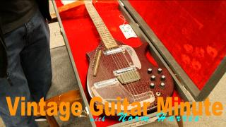 Vintage Guitar Minute: 1960's Coral Electric Sitar