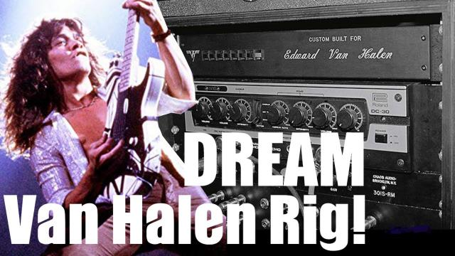 ONE of a kind DREAM Van Halen inspired Guitar Rig