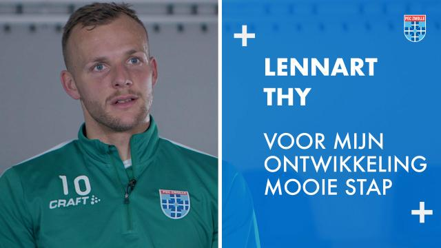 Lennart Thy: 'Voor mijn ontwikkeling een mooie stap'