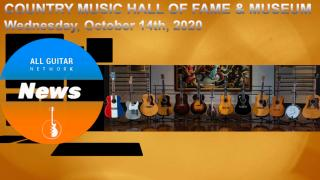 Historic Guitars Come Out To Play at Nashville's Country Music Hall Of Fame & Museum