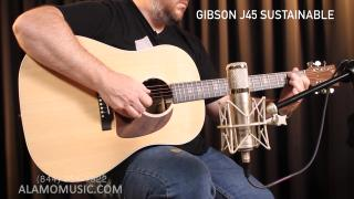 Alamo Music Center: Gibson Guitar's Naked J-45 - Reviewing the Gibson J-45 Sustainable, The Weirdest, Coolest New Gibson