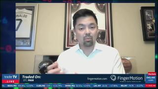 TraderTV Live - Finger Motion CEO Martin J. Shen