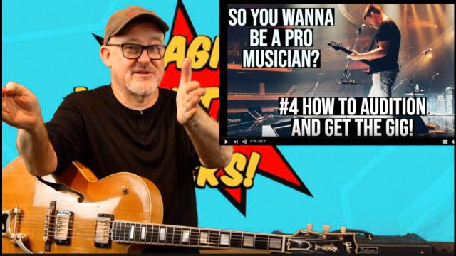 Tim Pierce: Pete Thorn; So You Wanna Be A Pro Musician...?  #4 How To Audition And Get The Gig.