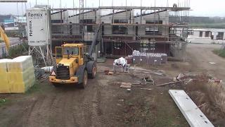 Studenten bouwen woningen in Zwolle
