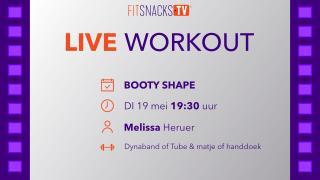 LIVE | Booty Shape met Melissa Heruer