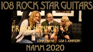 "108 ROCK STAR GUITARS AT NAMM 2020: Frank Hannon, ""Tesla"""