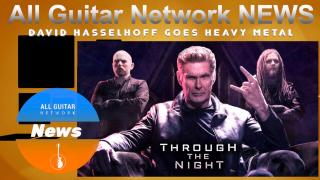 """Update: Dec 11, 2020: THE HOFF GETS HEAVY....! David Hasselhoff goes Heavy Metal with release of """"Through The Night"""""""