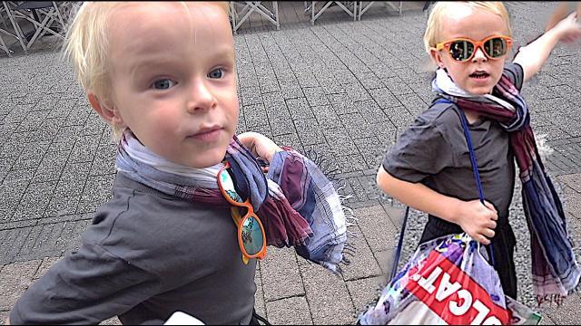 LUAN BEPAALT WAT EN WAAR WE KOPEN  (shoplog) | Bellinga Familie Vlog #1099