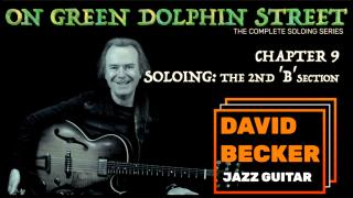 'On Green Dolphin Street':  Chapter 9_Soloing'  2nd 'B' Section