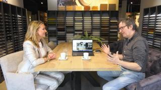 Ondernemerslounge (RTL7) | 3.6.04 | Laurien bij Marquardt Zoeterwoude
