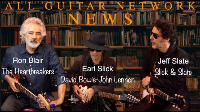 Earl Slick, Ron Blair and Jeff Slate: Tom Petty All-Star Birthday Event