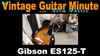Gibson ES125-T Tenor Guitar
