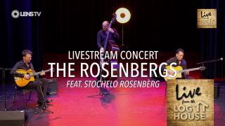 THE ROSENBERGS in LIVE FROM THE LOG HOUSE - Worldwide Livestream Concert - 27 nov. 2020