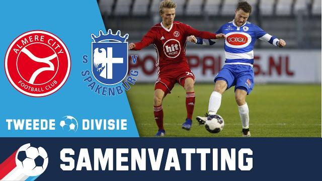 Jong Almere City - Spakenburg