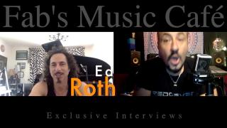 Fab's Music Café: Fab's exclusive interview with keyboard wizard, Ed Roth.