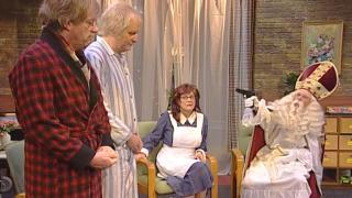 Sinterklaas in het bejaardenhuis - het begin van Sint Hubertusberg