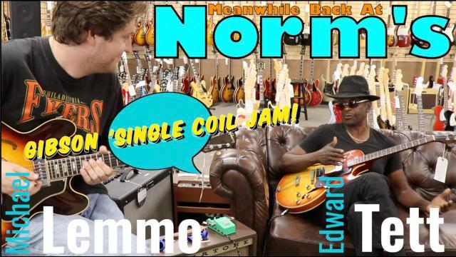 Edward Tett & Michael Lemmo: GibSunday  'single coil' Jam.