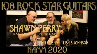 108 ROCK STAR GUITARS AT NAMM 2020: Rock journalist, Shawn Perry.