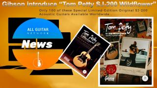 Thursday; 3/25: Special Limited-Edition Tom Petty SJ-200 Wildflower Acoustic  Available Worldwide on Gibson.com
