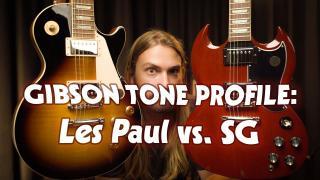 Gibson Les Paul Vs. Gibson SG | Gibson Humbucker Tone Profile
