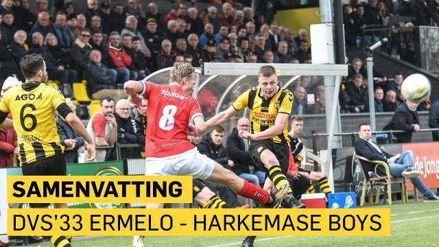 DVS'33 Ermelo - Harkemase Boys: 0-2
