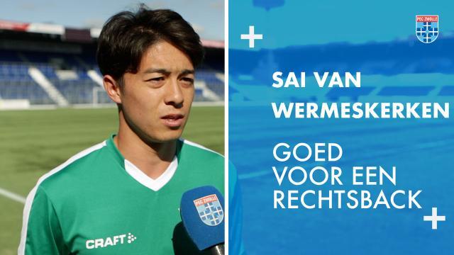 Sai van Wermeskerken: 'Goed voor een rechtsback.'