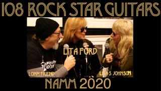 108 ROCK STAR GUITARS AT NAMM 2020: Lita Ford