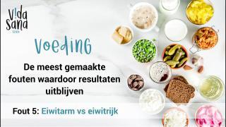 Voeding | De meest gemaakte fouten waardoor resultaten uitblijven 5
