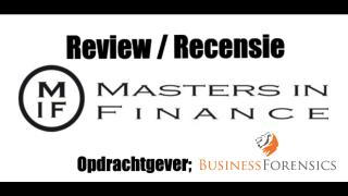 Masters in Finance - Review Recensie Business Forensics