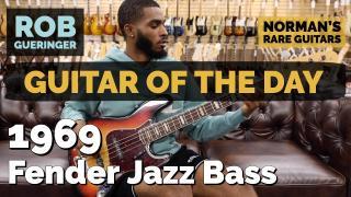 1969 Fender Jazz Bass   Special Guest: Rob Gueringer