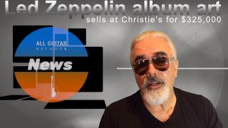 AGN News: July 5th, 2020: LED ZEPPELIN ORIGINAL ART SELLS AT CHRISTIE'S FOR $325,000!