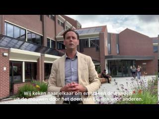 Boodschap burgemeester Harm-Jan van Schaik