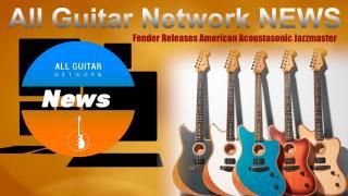 Fender Releases American Acoustasonic Jazzmaster.