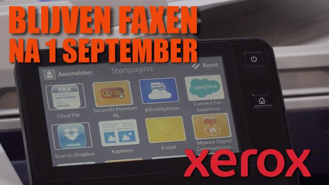 Thema ISDN Verdwijnt, wat nu - Xerox Nederland