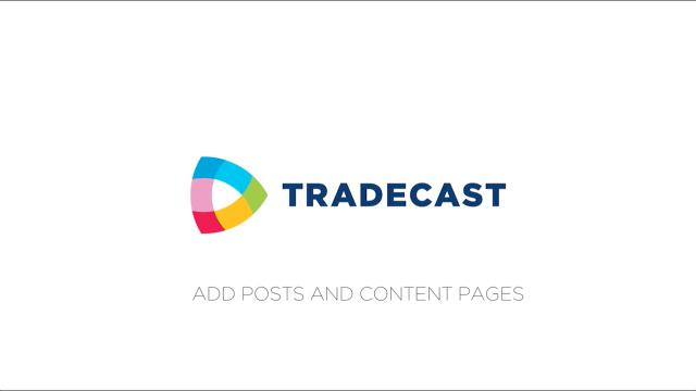 How to #5: Add posts and content pages