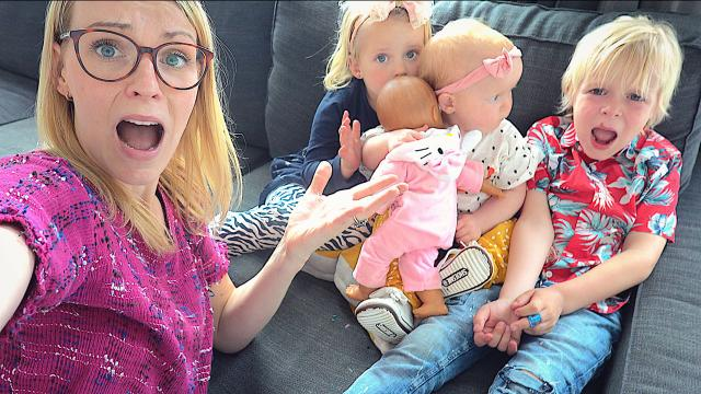 ALLEENSTAANDE MOEDER MET 3 KiNDEREN VOOR 1 DAG | Bellinga Familie Vloggers #1381