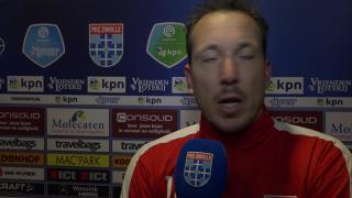 Diederik Boer: 'We hebben vandaag geen moment in ons spel kunnen komen.'