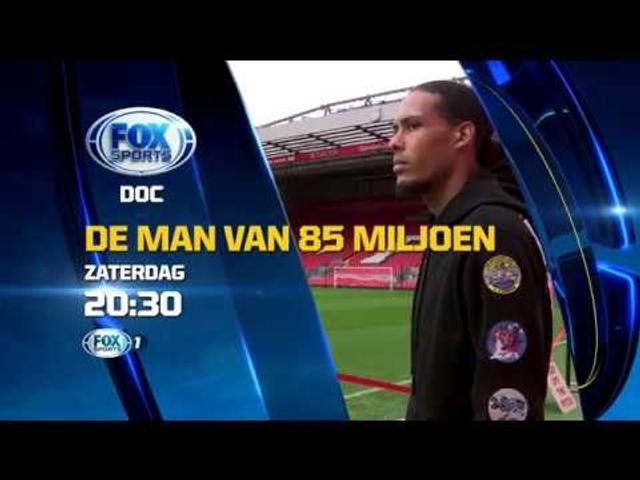 Komende zaterdag 21 april op Fox Sports: De man van 85 miljoen