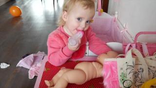 SPELEN MET BABYPOP   Lucilla Bellinga Vlog #11