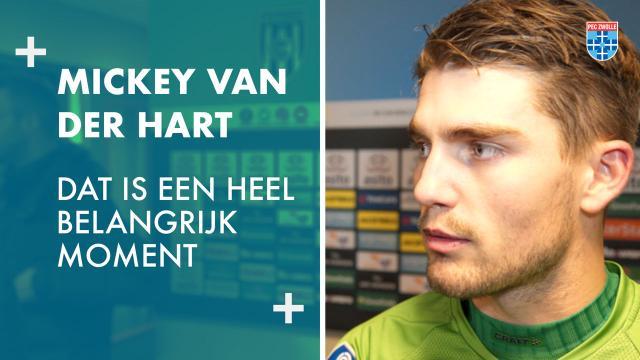 Mickey van der Hart: 'Dat is een heel belangrijk moment.'