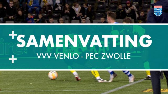 PEC Zwolle sluit teleurstellend jaar af met nederlaag