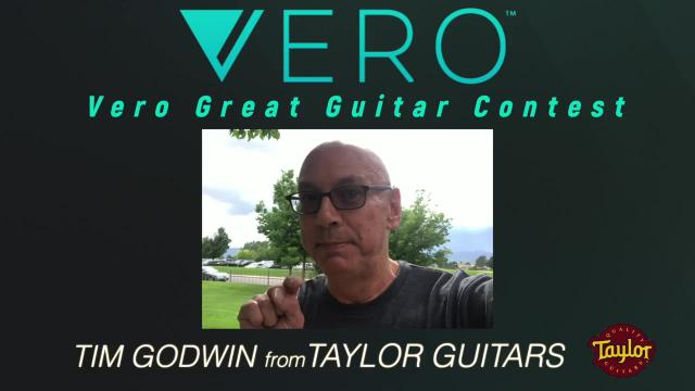 Vero Great Guitar Contest: Judge, Tim Godwin from Taylor Guitars:  Finalists are about to be announced