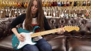 Fender 1956 Custom Shop Stratocaster with Angela Petrilli