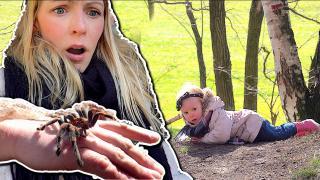 DiT MAAKT EEN SAAiE WANDELiNG TOCH SPANNEND!  | Bellinga Vlog #1682