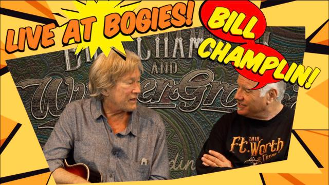 What's Happenin' Out There: Bill Champlin: 'live' at Bogie's_Nov 24th
