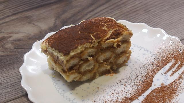 Traditionele tiramisu