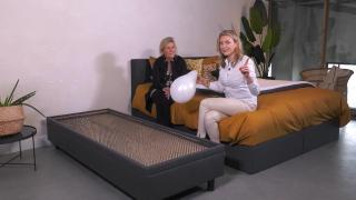 Ondernemerslounge (RTL7) | 3.2.02 | Laurien bij Felman Bedden