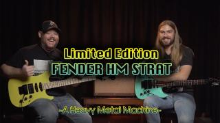 Fender Limited Edition HM Super Strat Demo & Review | An 80's Heavy Metal Classic Comes Back!