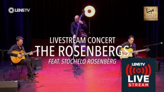 THE ROSENBERGS in LIVE FROM THE LOG HOUSE - Worldwide Livestream Concert - 27 nov. 2020