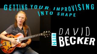 DAVID BECKER: -Jazz Blues Comping explained